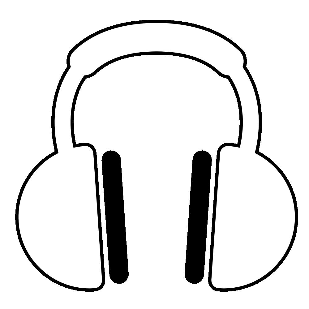 Headphones clipart tumblr transparent. Clipartist net clip art
