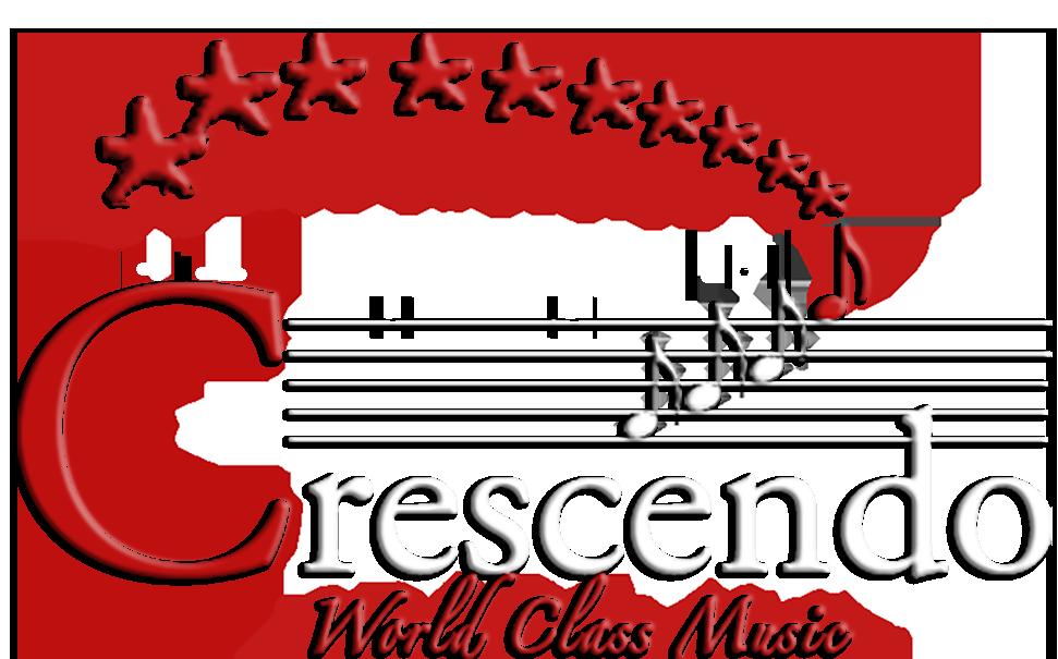 Clipart music cantata. Crescendo menu
