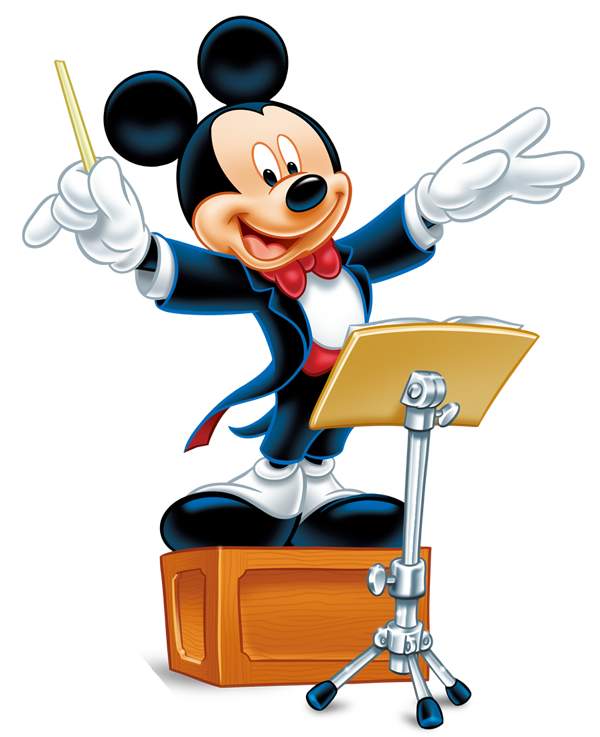 Musician clipart musical director. Music disney pencil and