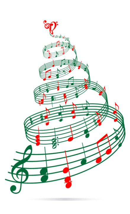 Clipart music christmas tree. Best playlist collectibles website