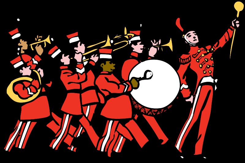 Orchestra clipart band church. Concert arrangements james gilbert