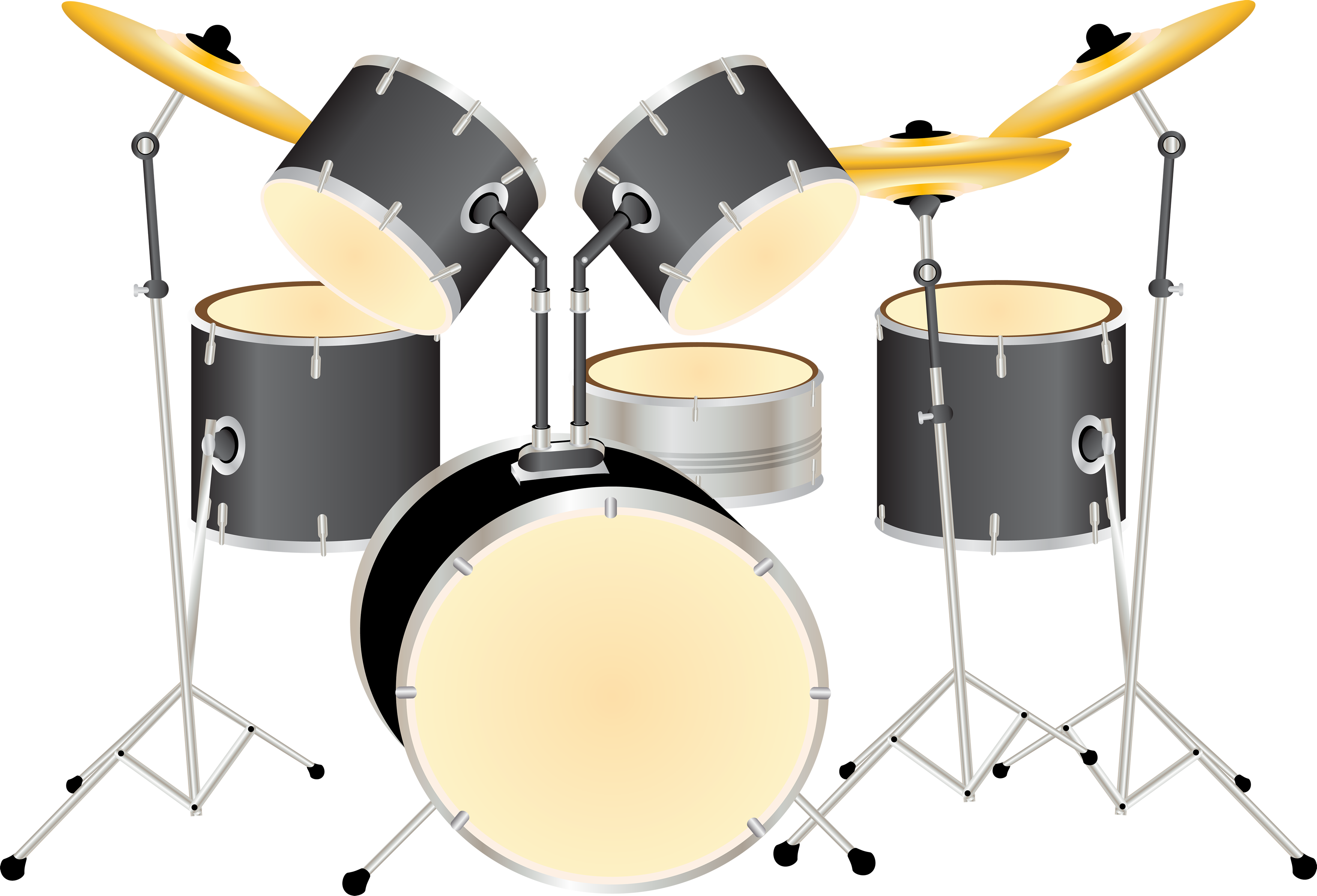Drums kit png image. Water clipart drum