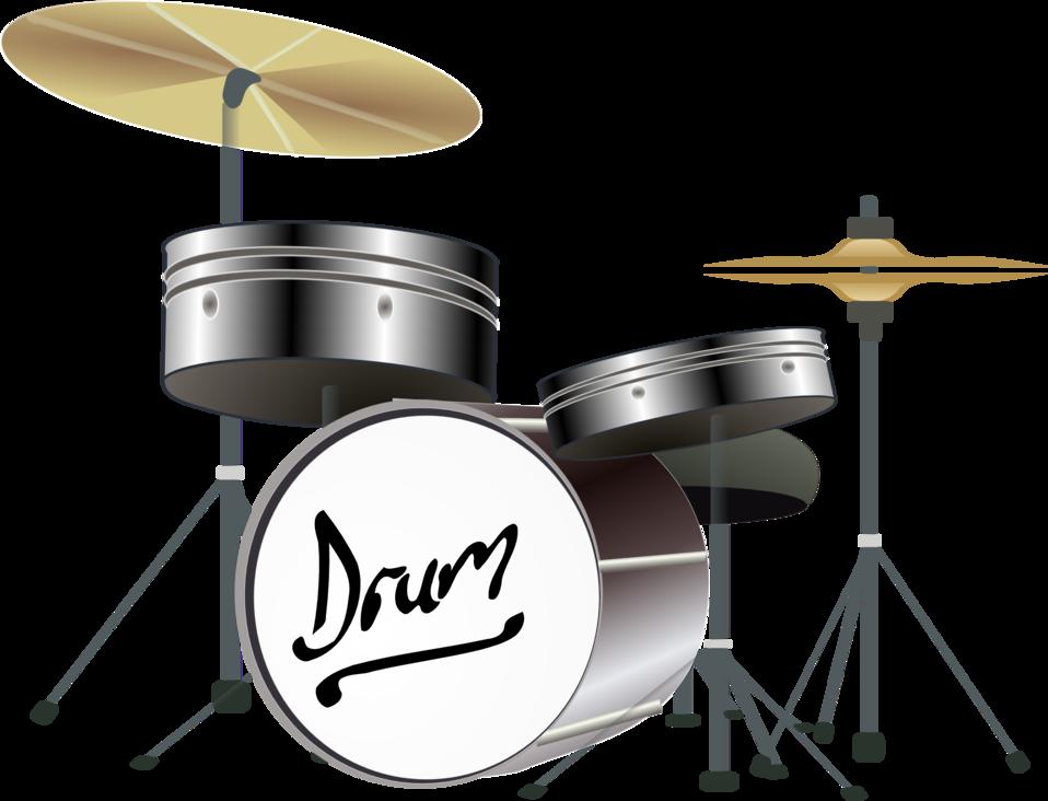 Public domain clip art. Drums clipart svg