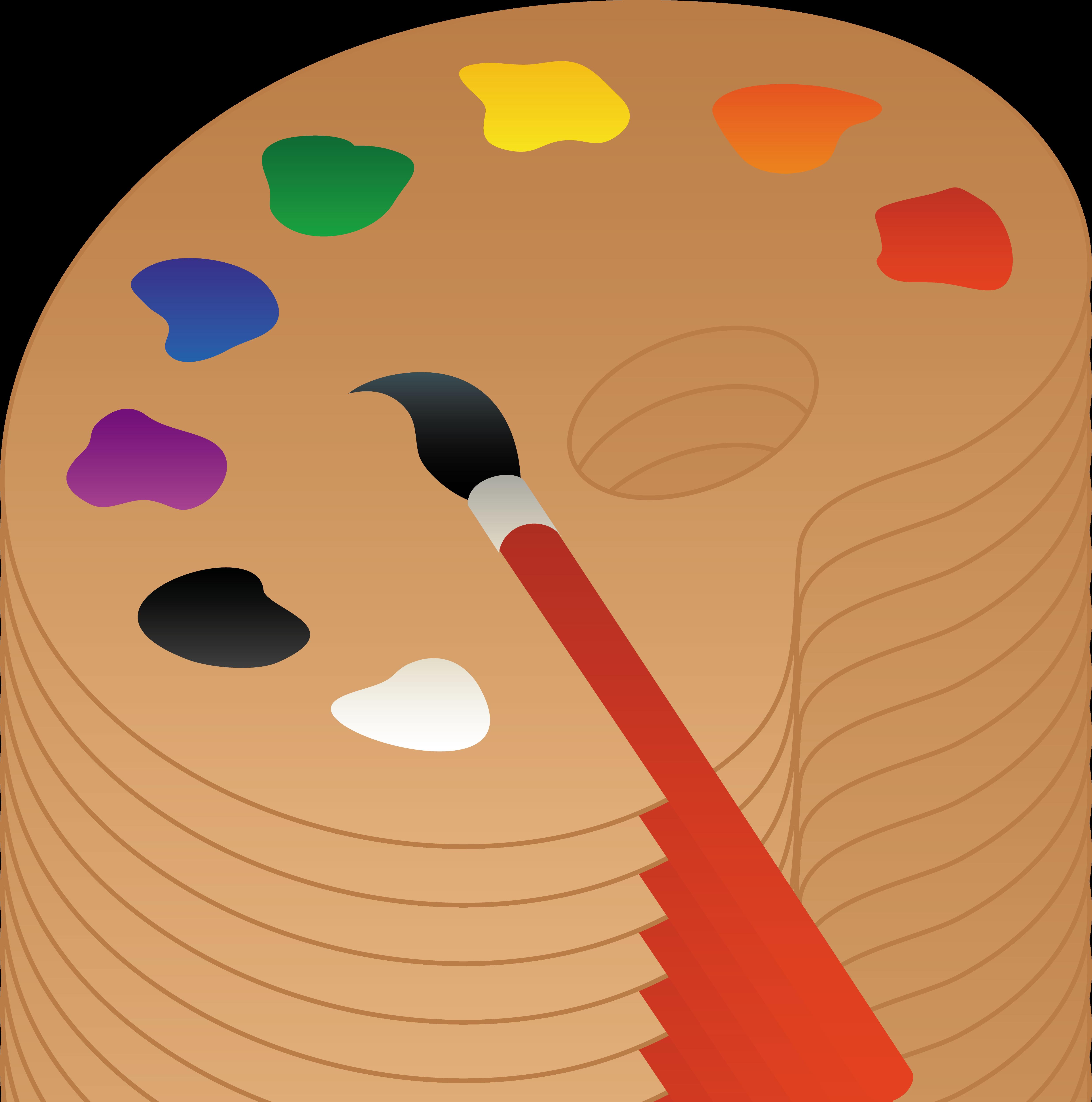 paintbrush clipart fine art
