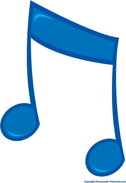 And free notes panda. Music clipart fun