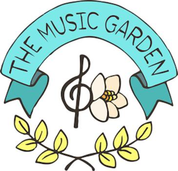 clipart music garden