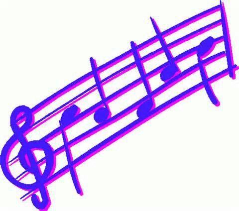 Clipart music garden. Notes note