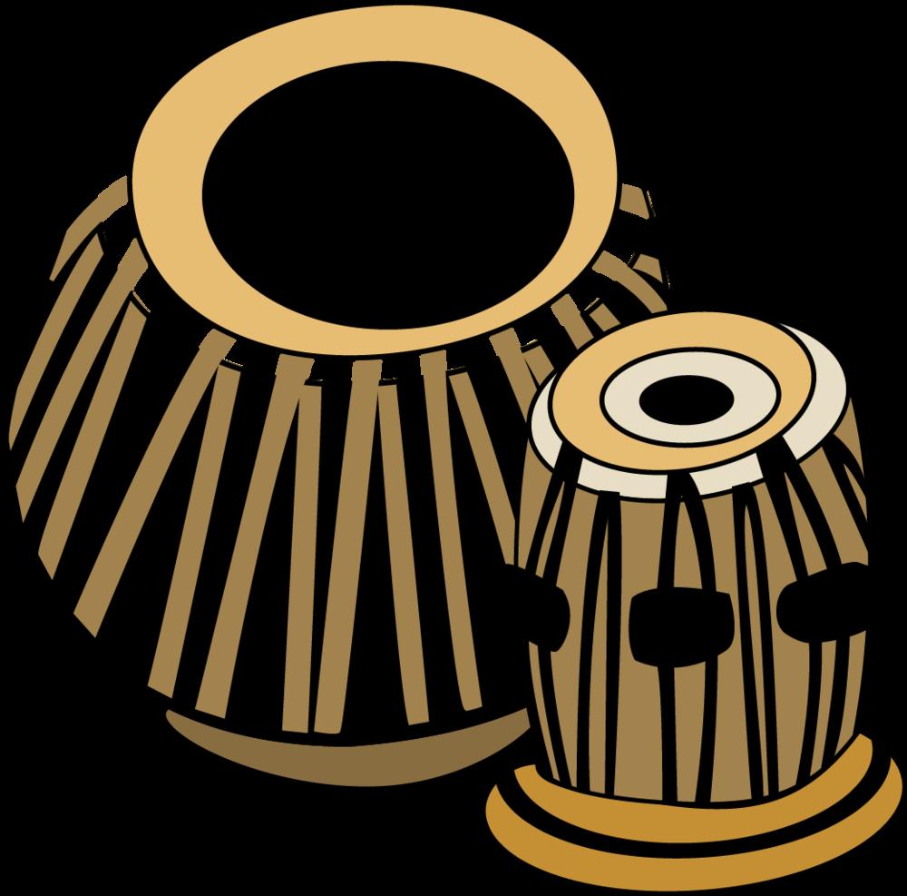 Drum musical clip art. Instruments clipart tabla