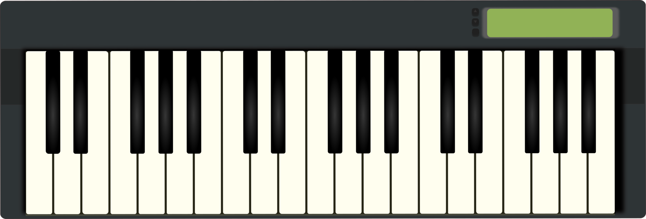 Musical instrument electric png. Piano clipart digital piano