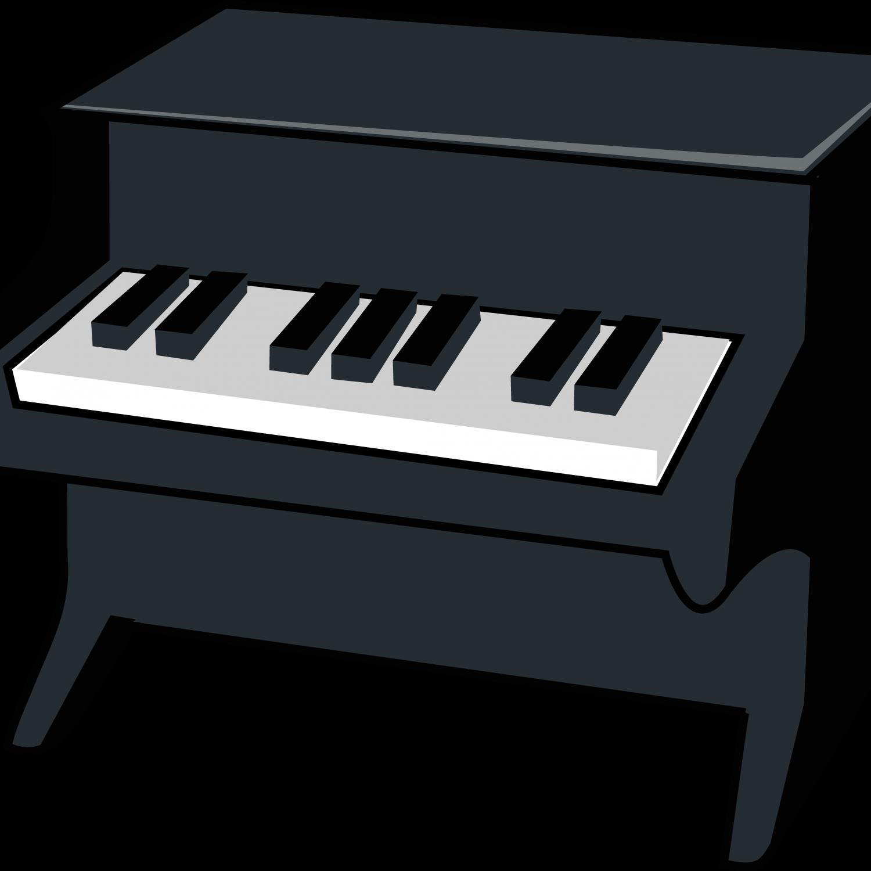 Piano clipart digital piano. Grand drawing upright clip