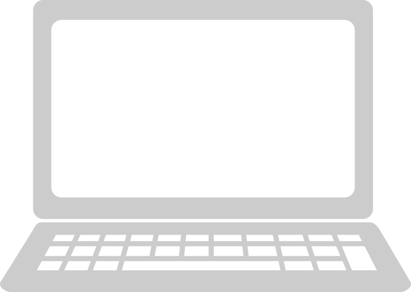 Free images black and. White clipart laptop