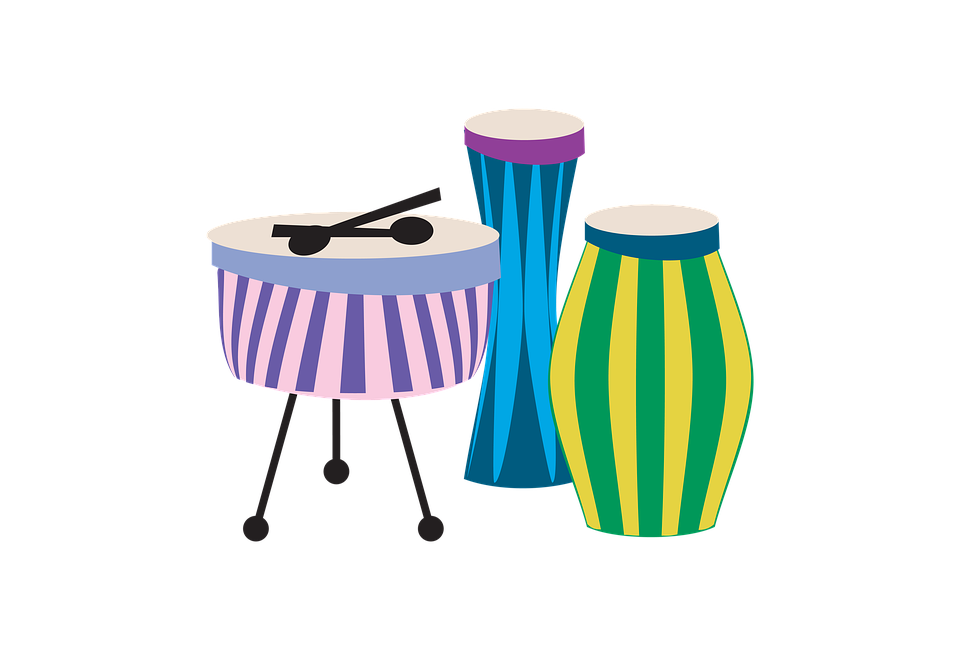 Free photo drums music. Water clipart drum