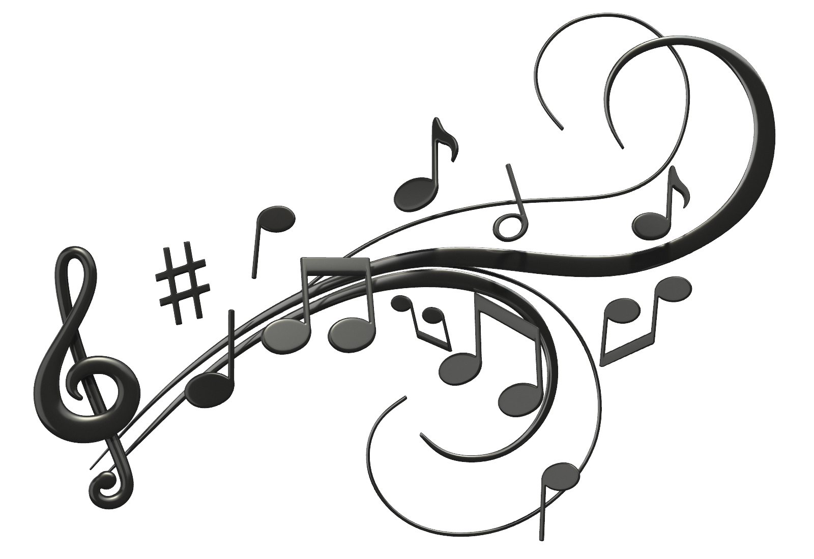 Heartbeat clipart music. Pictures of musical notes