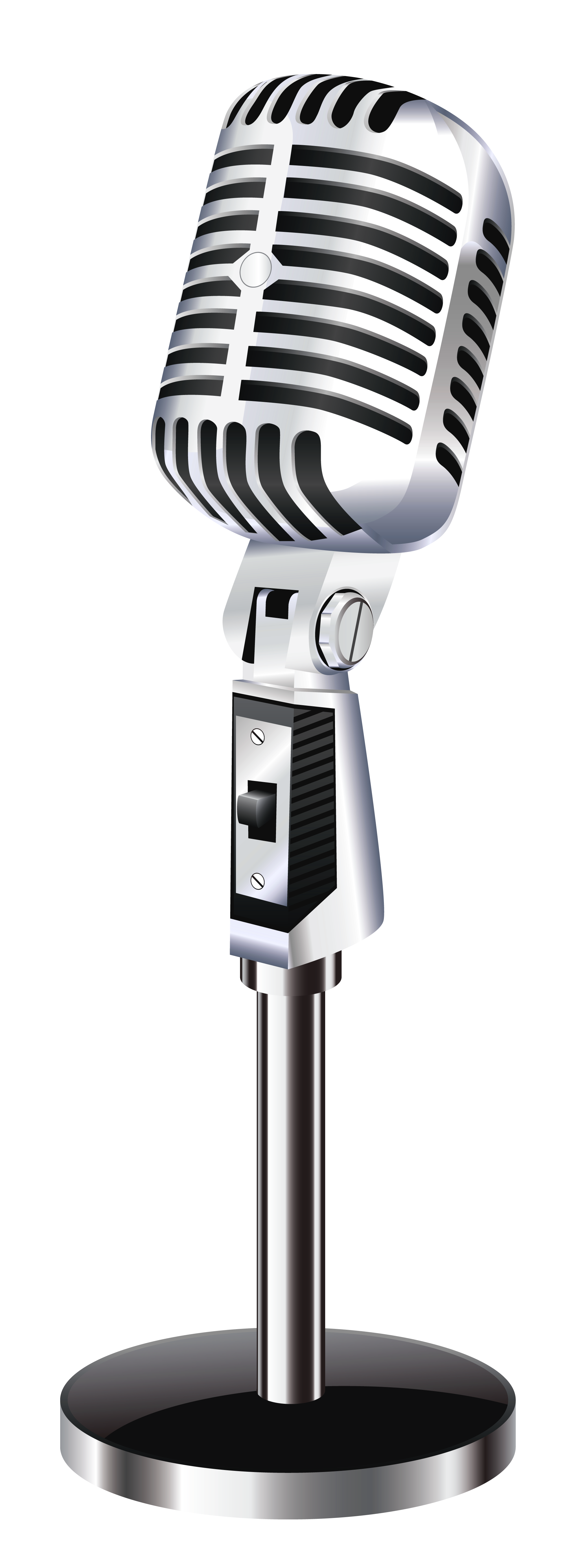 Transparent png pictures free. Microphone clipart audio