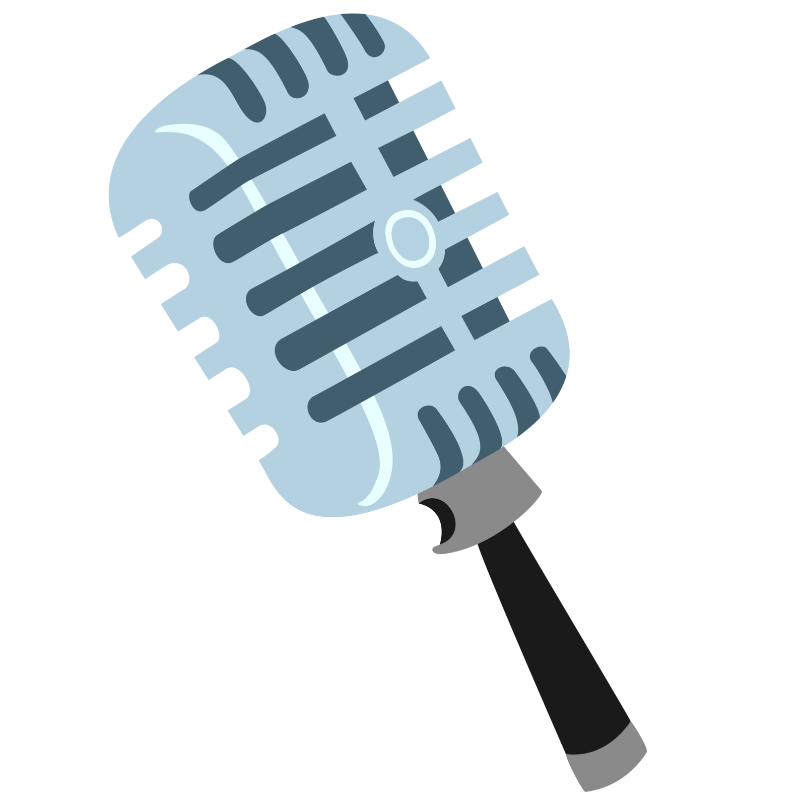 By embersatdawn deviantart com. Microphone vector png