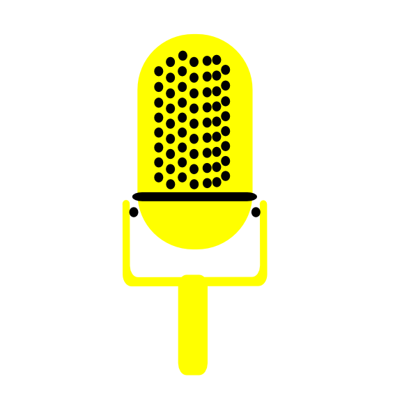 microphone clipart music note