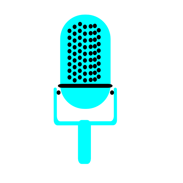 Clip art at clker. Microphone clipart drawing