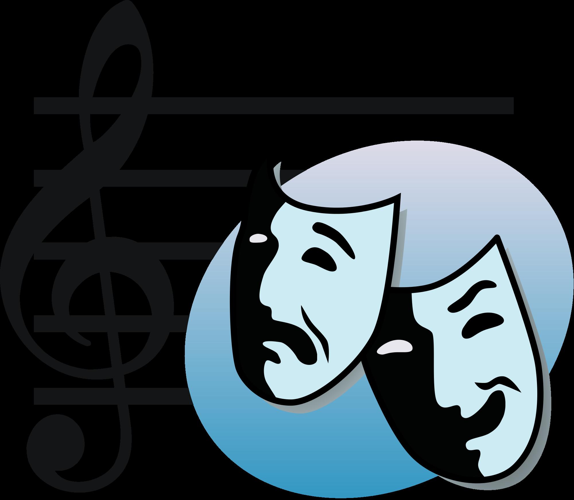Music clipart music drama. File mtlogo svg wikimedia