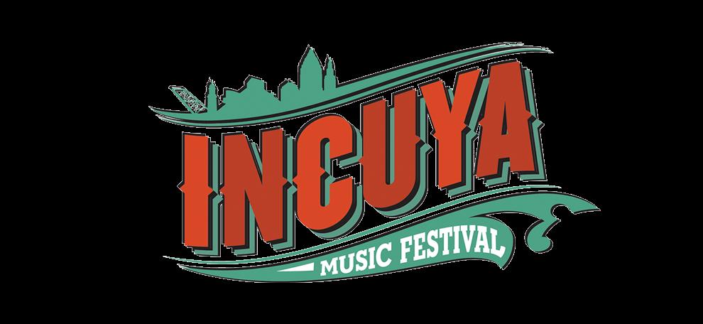 Incuya music set times. Festival clipart musical group