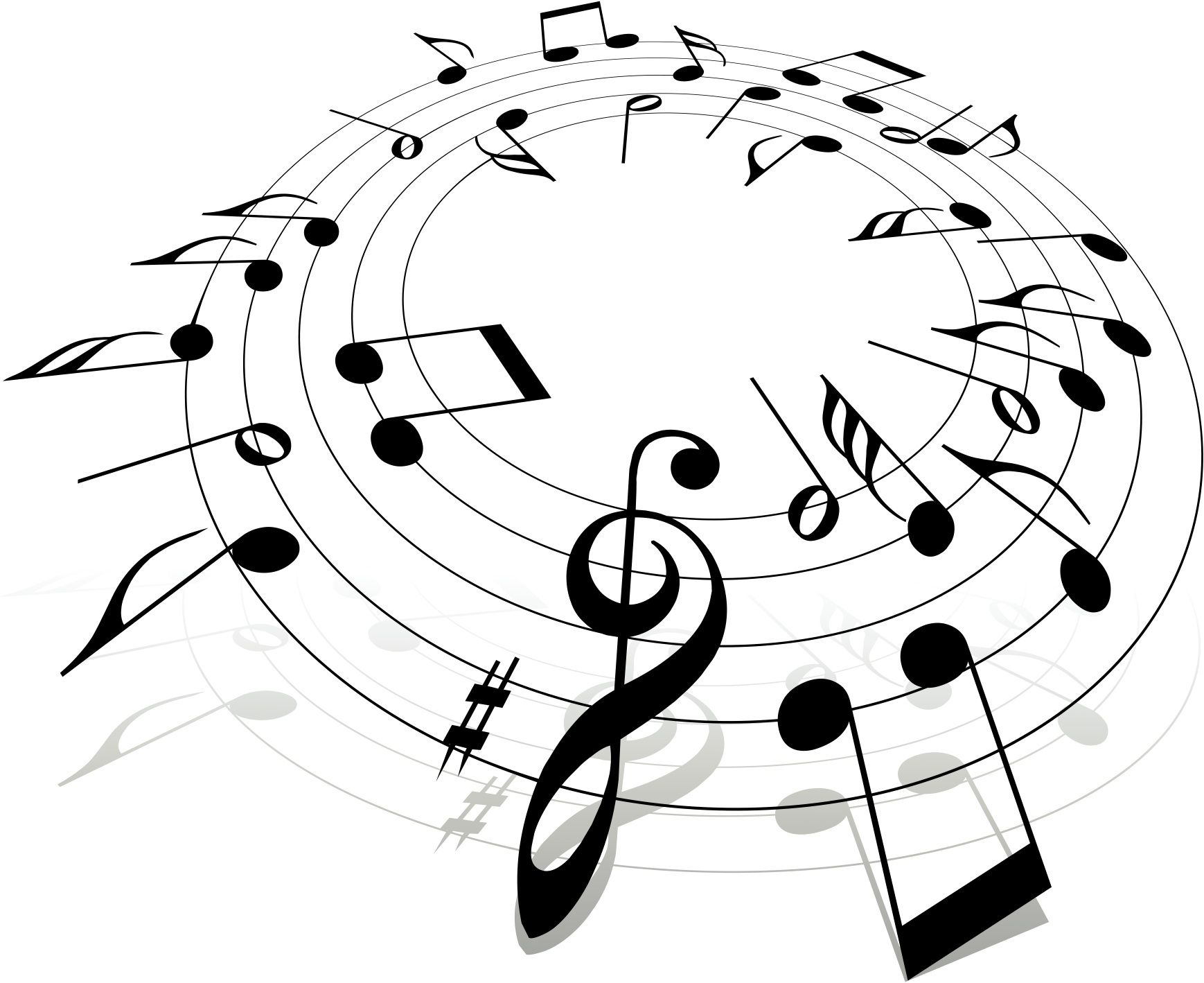 Clipart music music lesson. X vector free