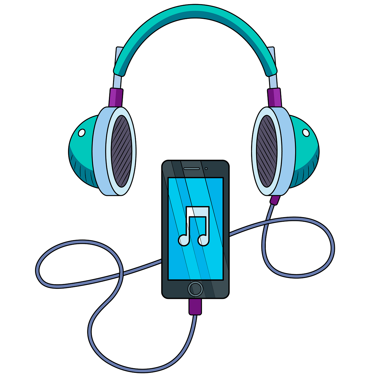 And headphones free download. Music clipart music player