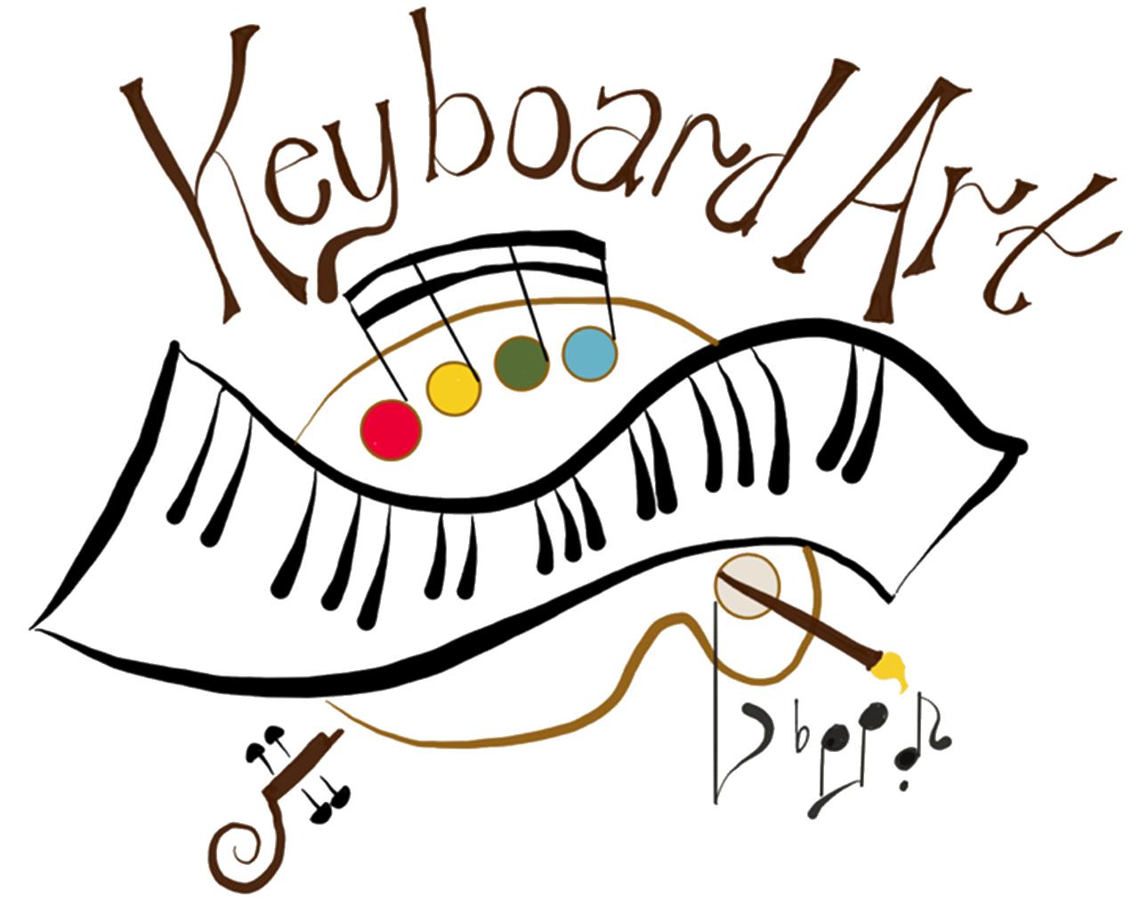 Keyboard art school of. Musician clipart piano teacher
