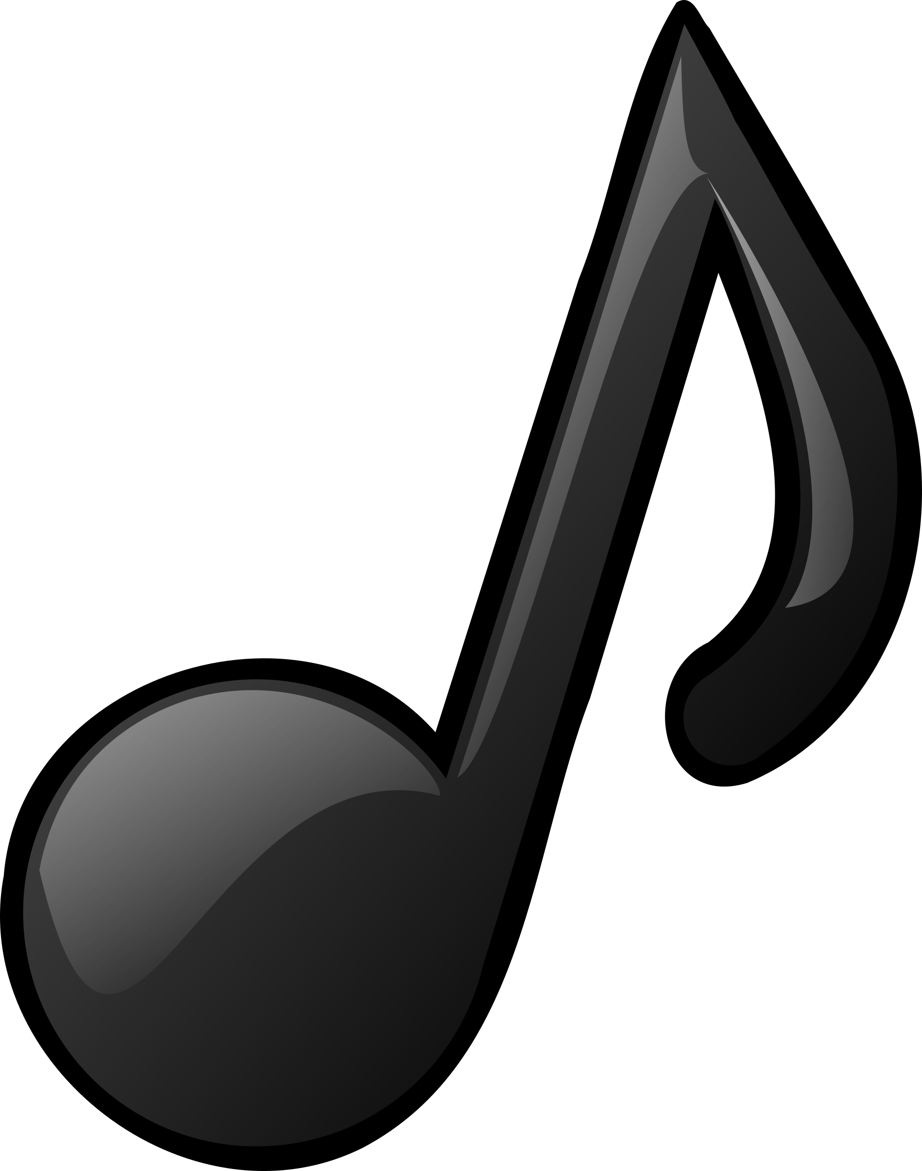 Note clipart music symbol. Musical big image png