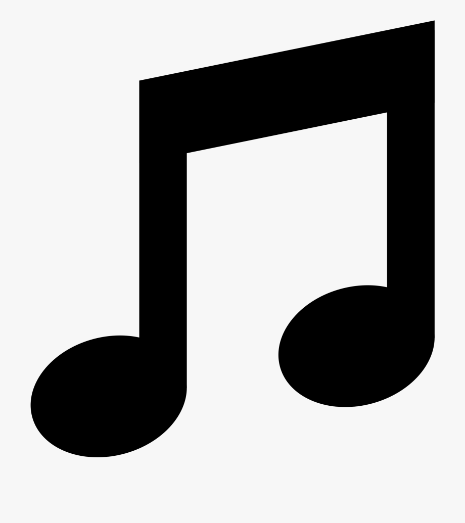 Download musical notes half. Clipart music music symbol