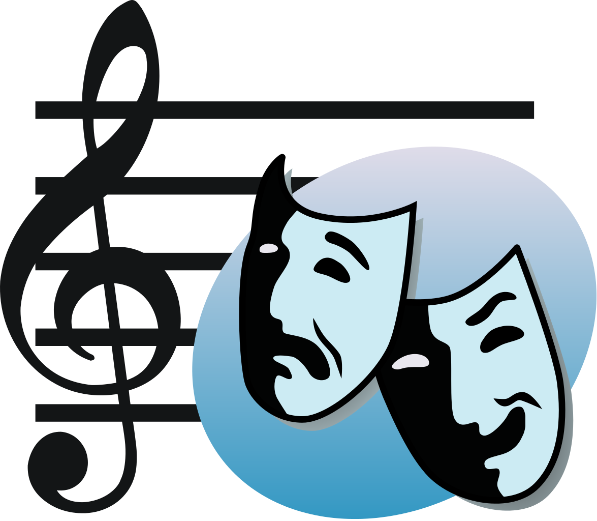 collection of high. Mask clipart musical theatre