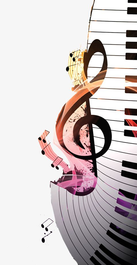 Piano clipart musical notation. Music notes png