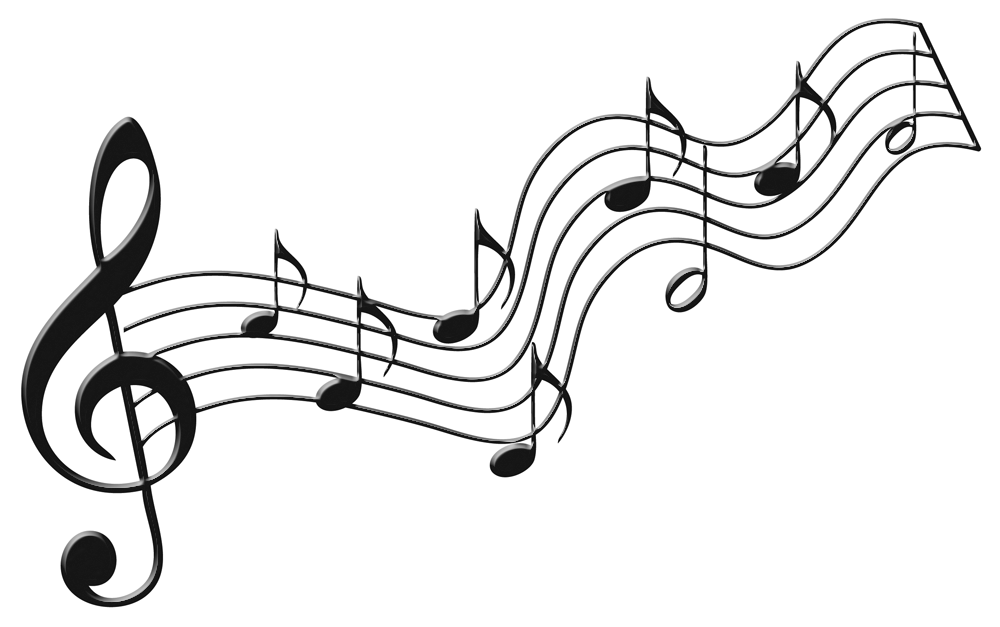 Musical note drawing at. Clipart music notebook