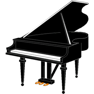 piano clipart music instrument