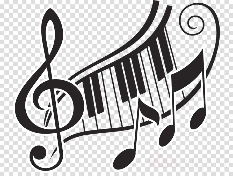 Piano clipart musique. Cartoon music drawing transparent