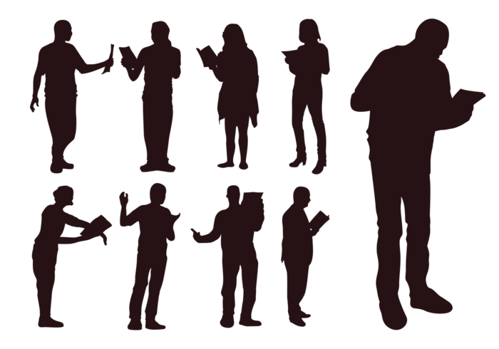 Clipart music program. Choir silhouette at getdrawings