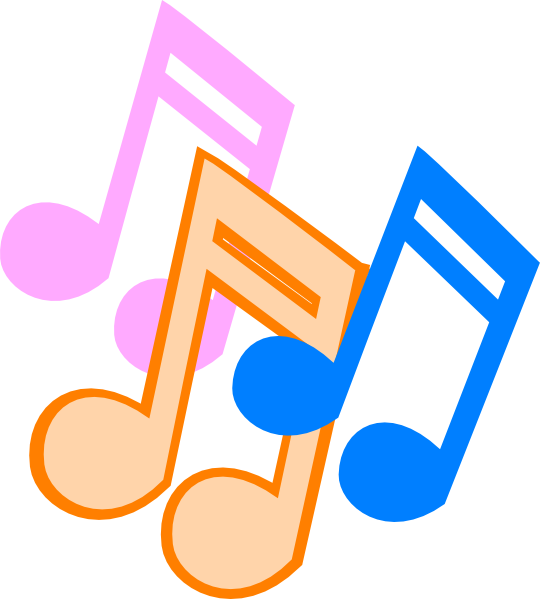 Note clip art at. Clipart music religious