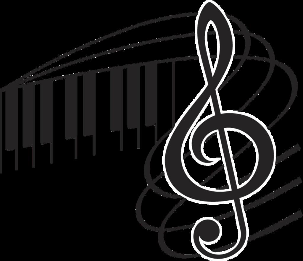 Image du blog zezete. Piano clipart silhouette