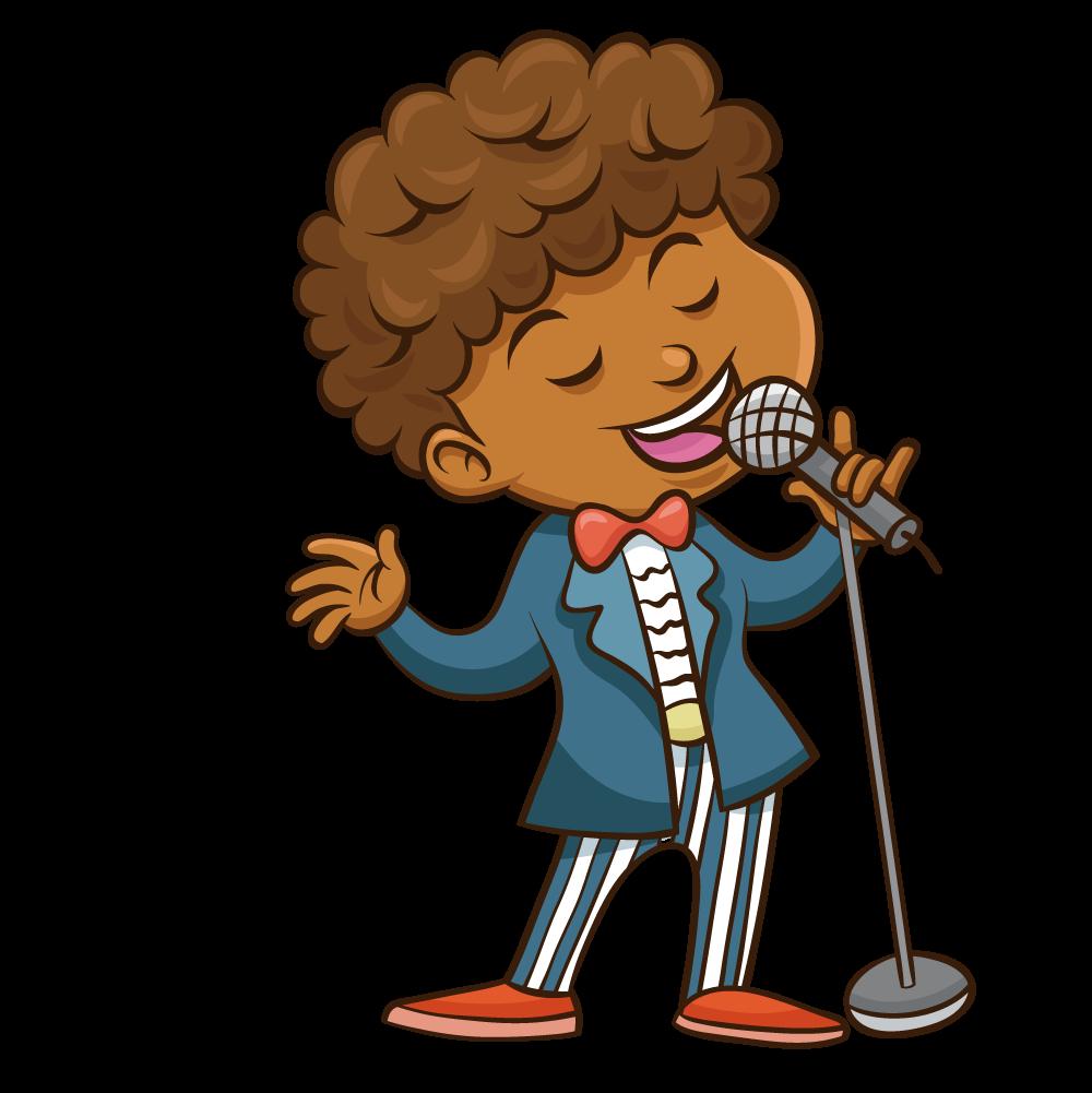 Singer clipart man singer, Singer man singer Transparent ...