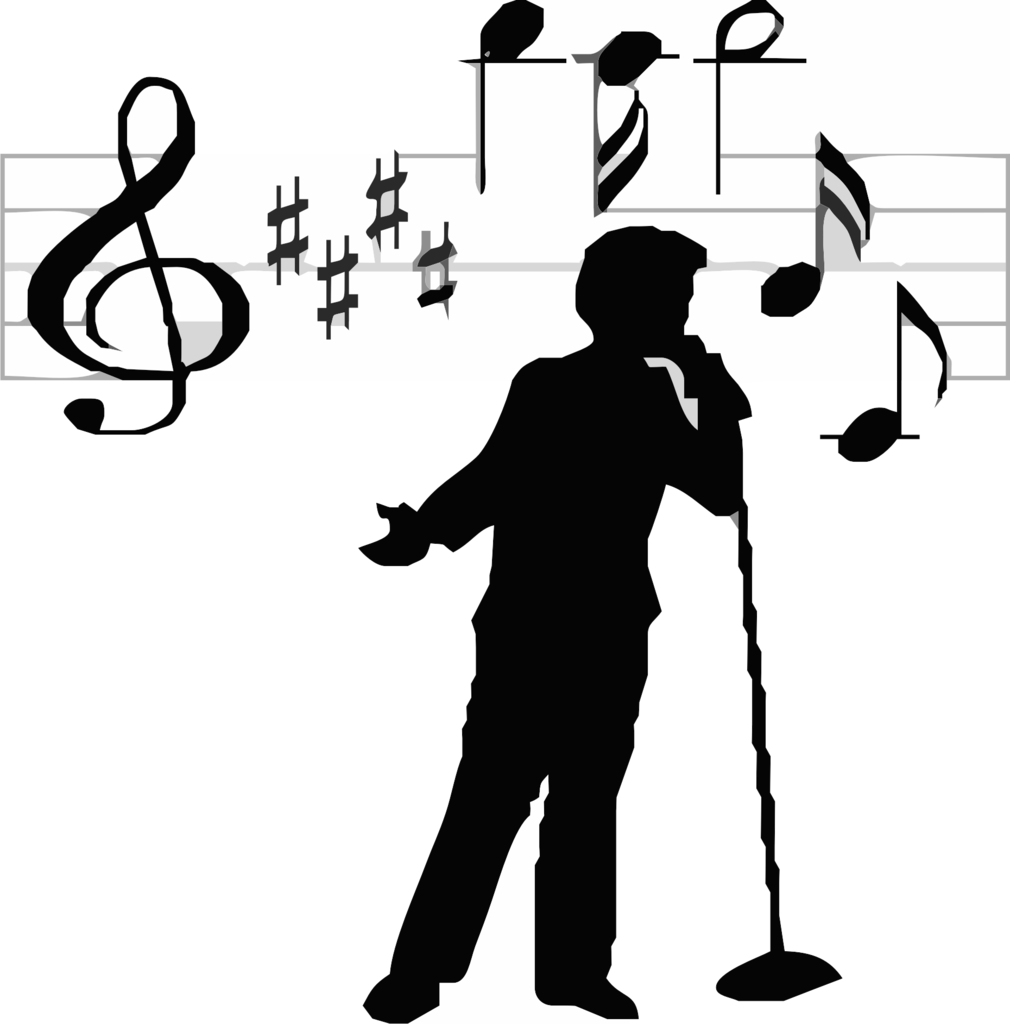collection of transparent. Note clipart singing