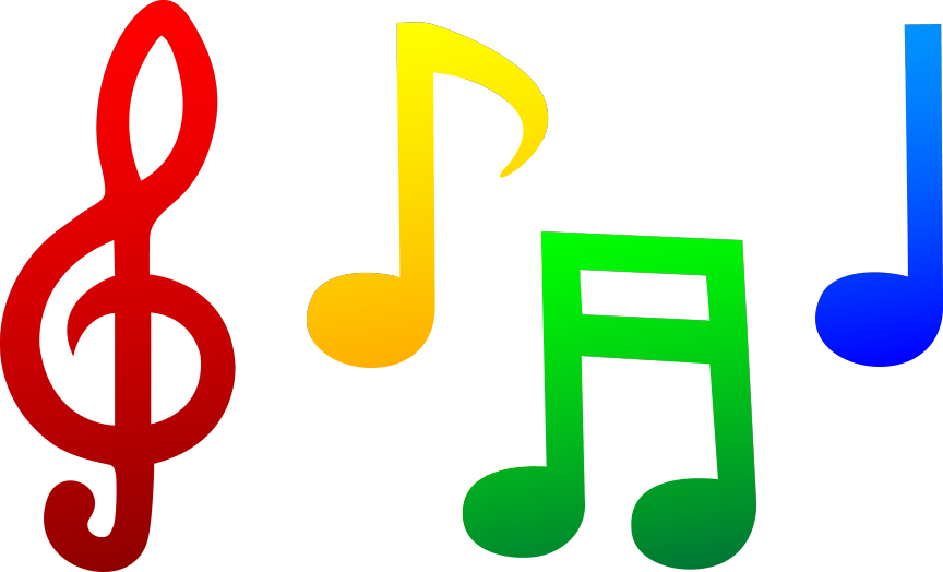 Music notes symbol pictures. Note clipart positive note