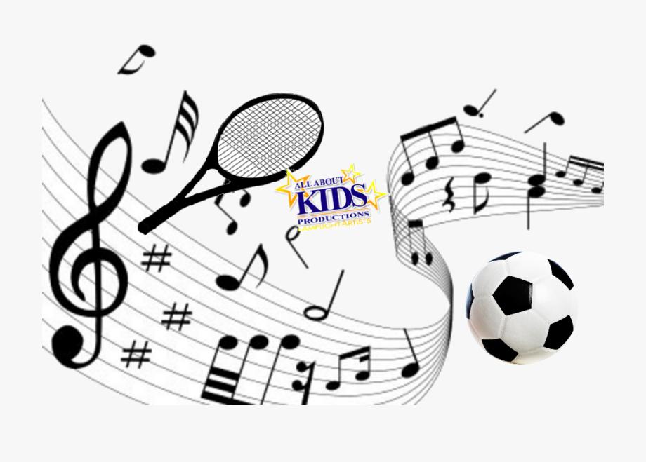 Sheet performing art all. Music clipart sport
