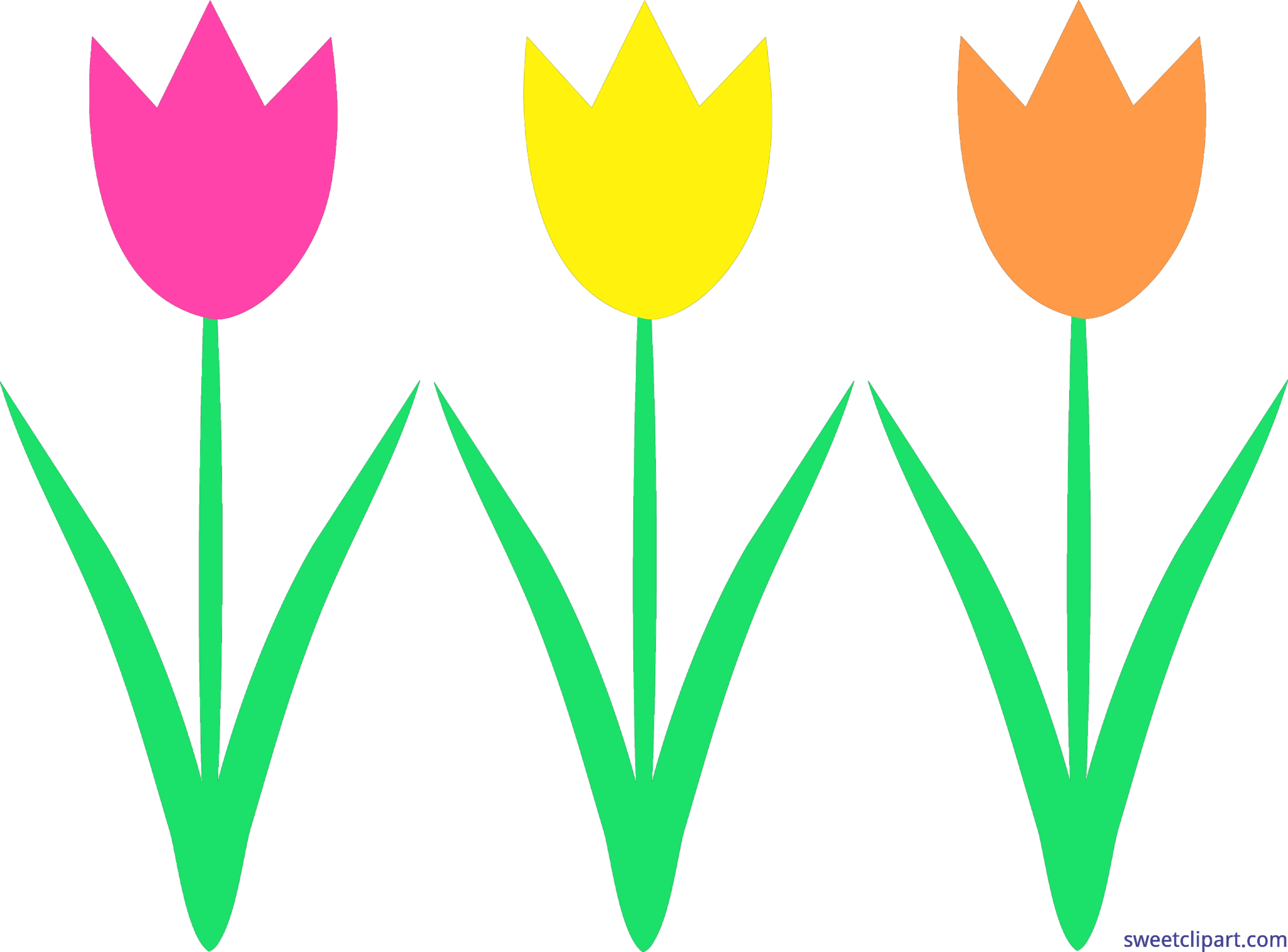 Tulips clip art sweet. Food clipart spring