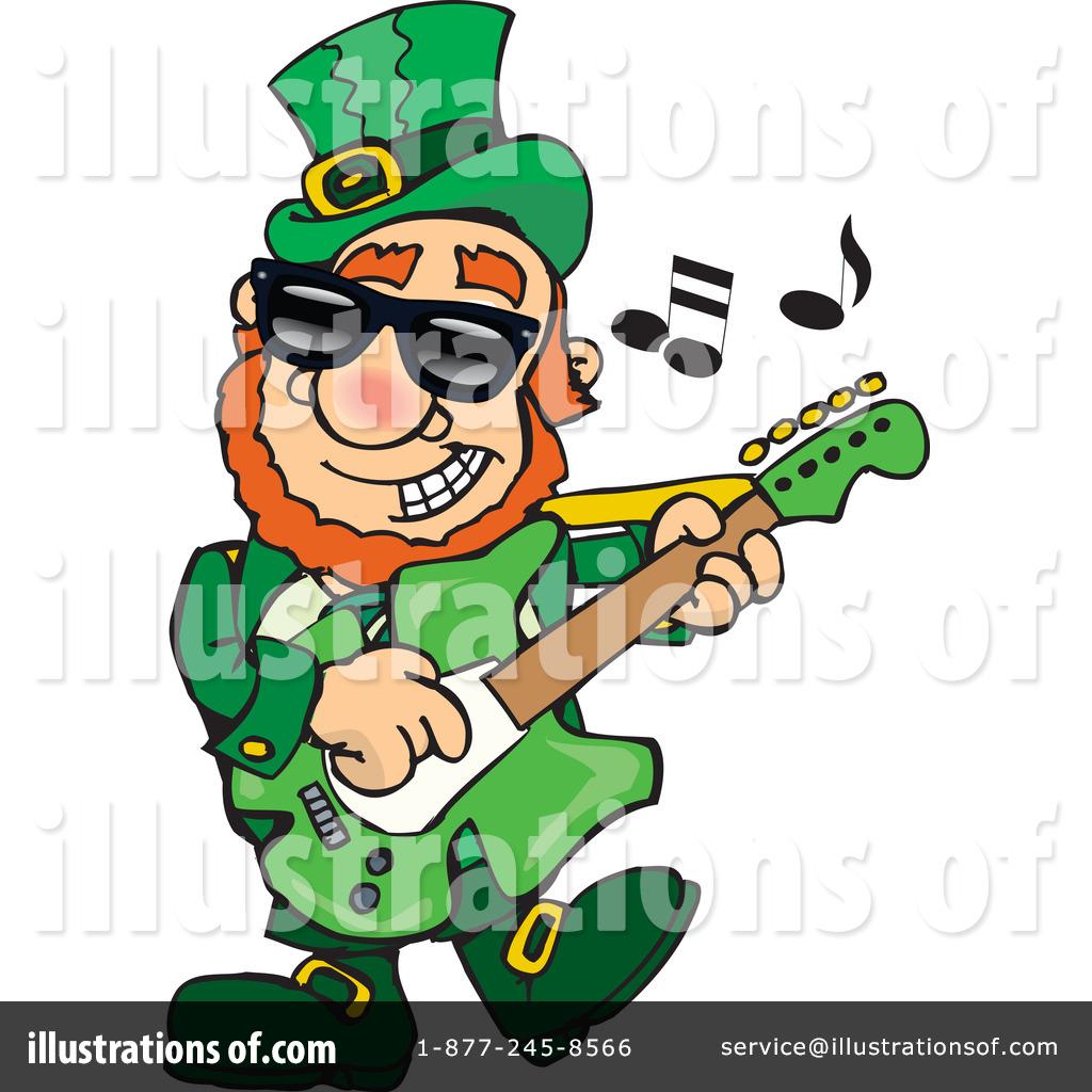 Music clipart st patricks day. Illustration by dennis