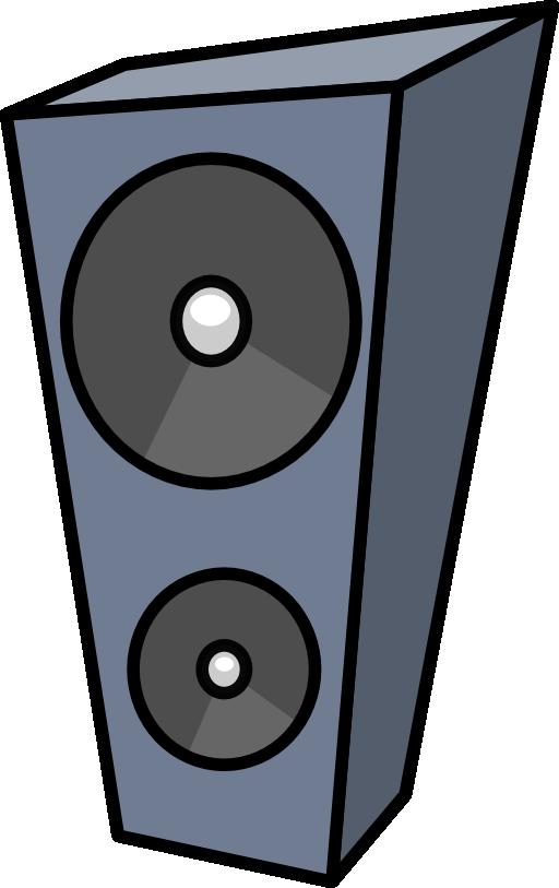 Clipart music stereo. Cartoon speaker i royalty