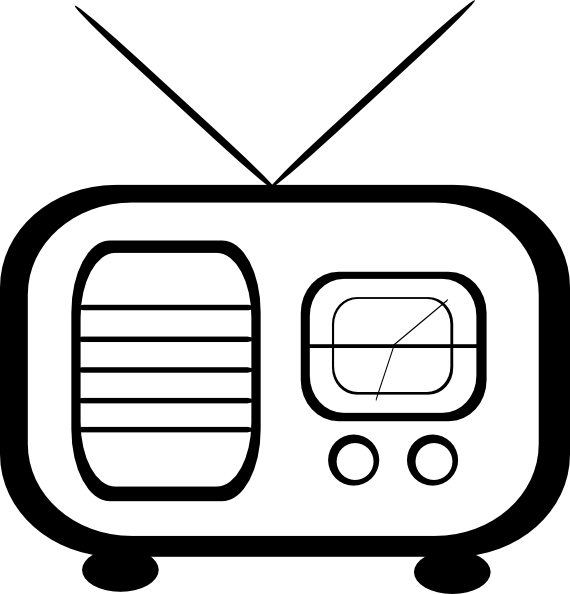 Radio clip art at. Clipart music stereo