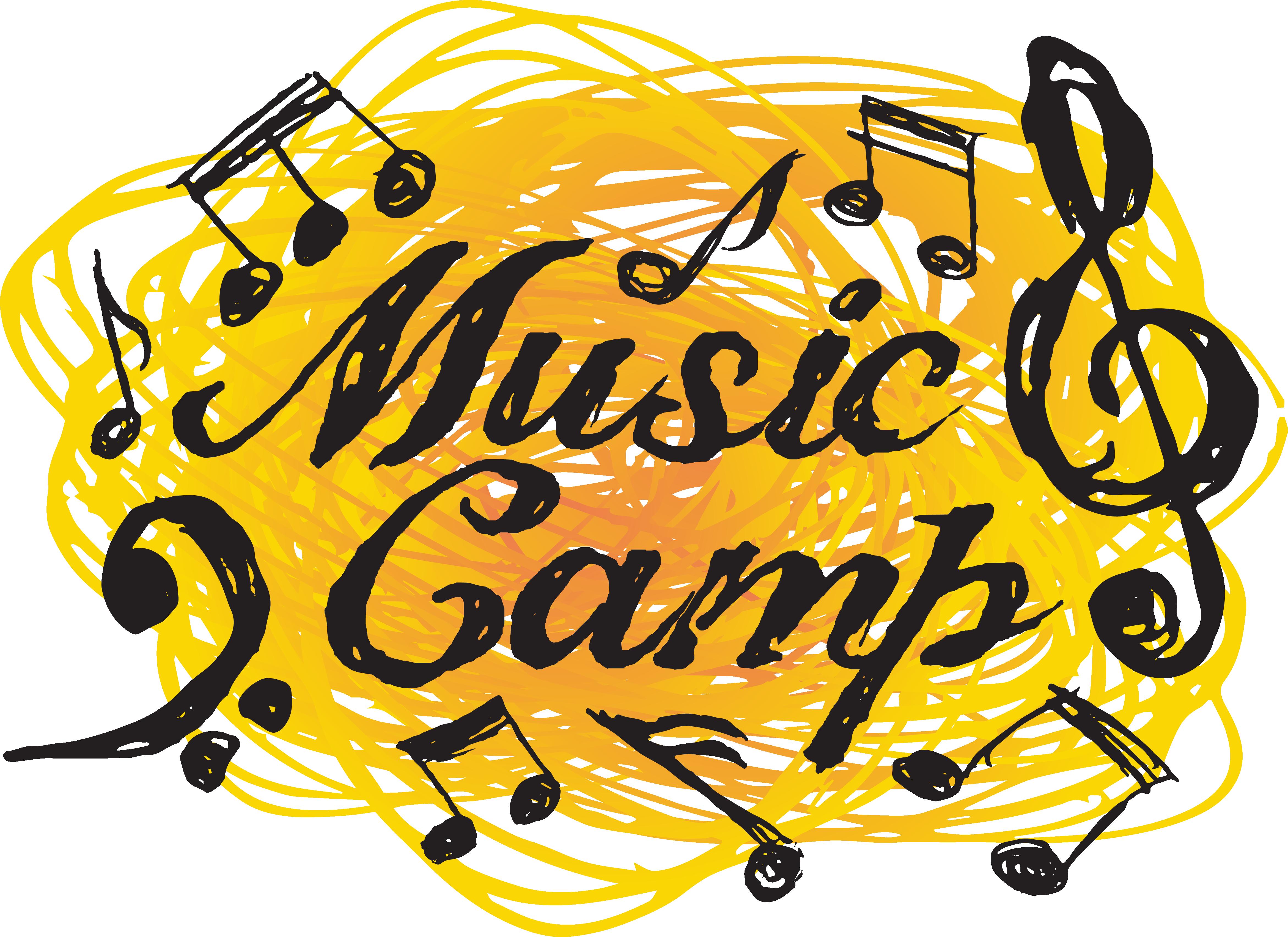 Camp . Clipart music summer