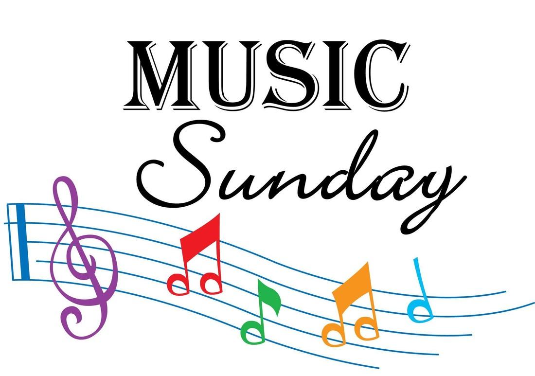 Clipart music sunday. June pilgrim church weymouth