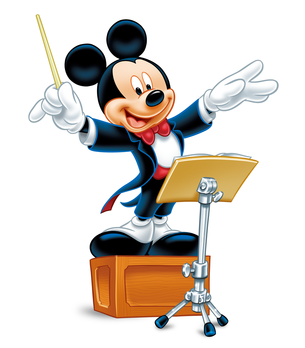 Music clipart teacher. Mickey mouse png images