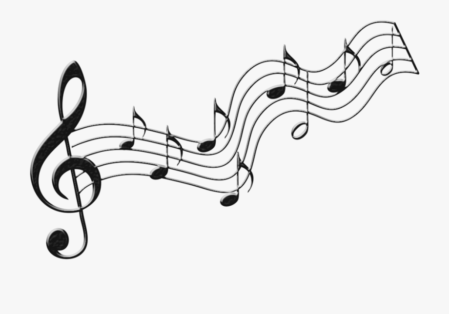 Notes clip art images. Music clipart clear background