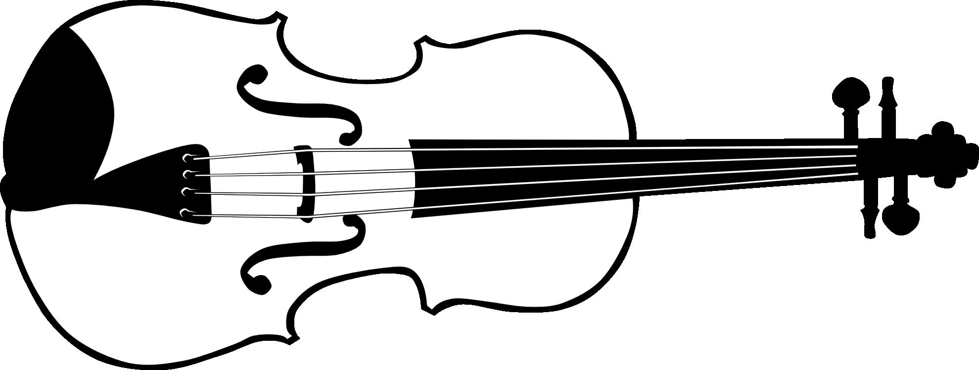 Black and white panda. Clipart music violin