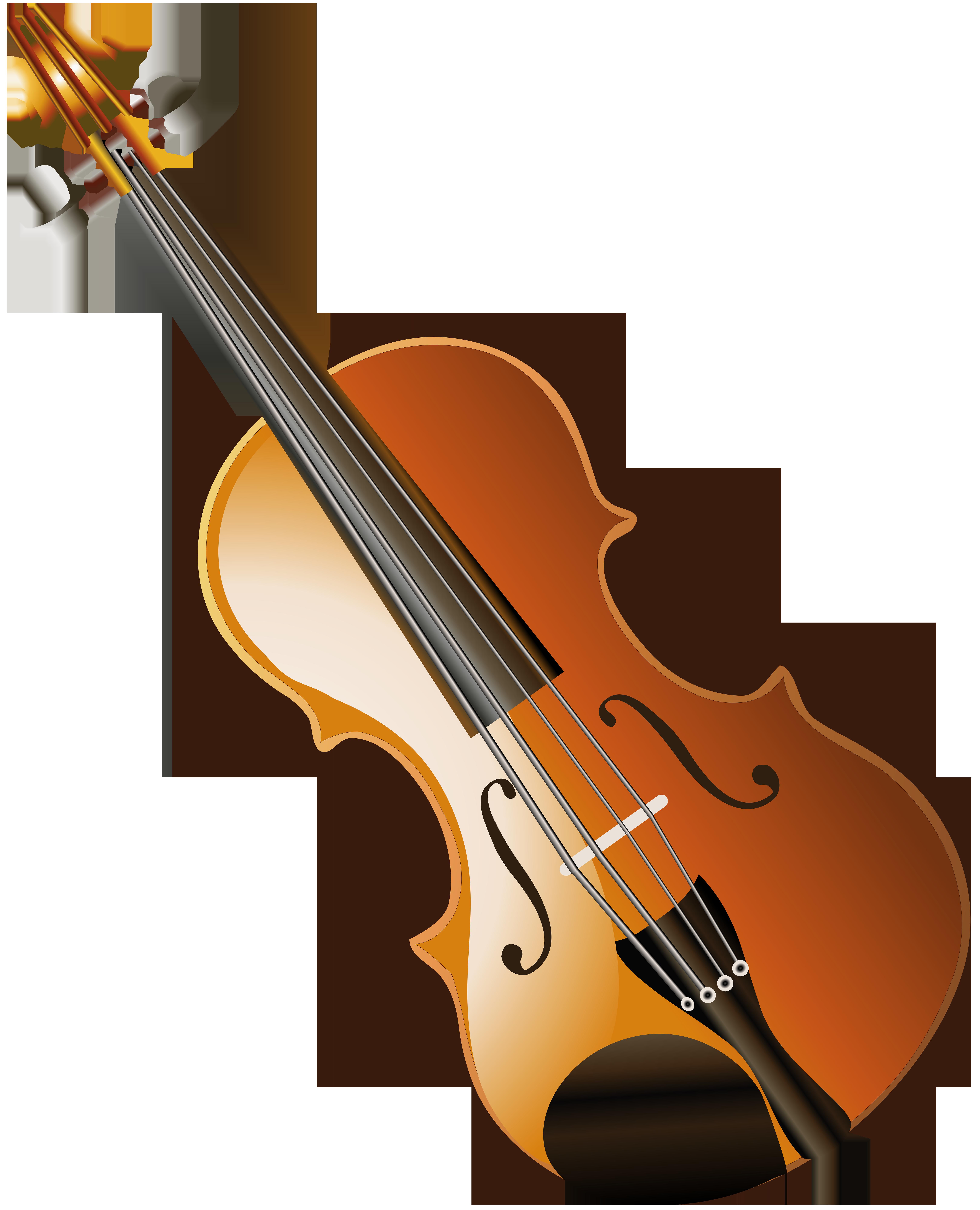 Instruments clipart viola. Violin transparent clip art